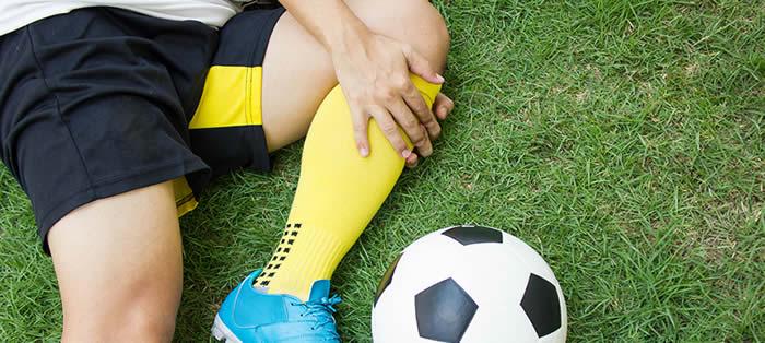 El fútbol y las lesiones deportivas